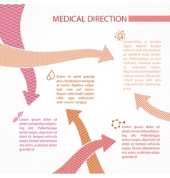 Science infographic design vector image
