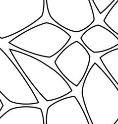 Seamless mesh pattern vector
