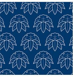 seamless pattern japanese style sashiko vector image