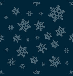 seamless winter texture winter background vector image
