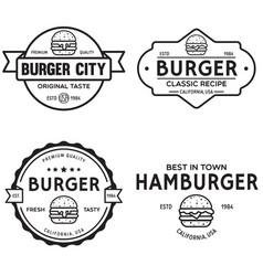 set of badges banner labels and logo for vector image