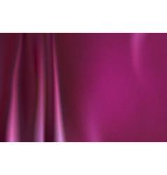 Pink silk background vector