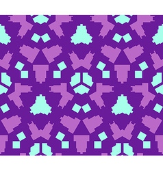purple violet blue color abstract geometric vector image vector image