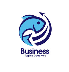 Fresh fish export vector