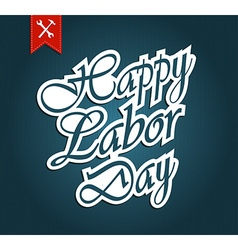 Labour day vector image vector image