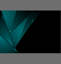 dark turquoise abstract corporate material vector image