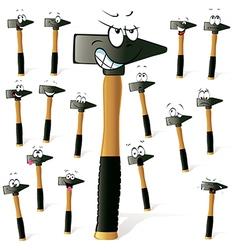 hammer vector image