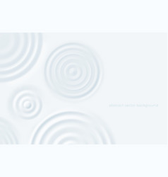 ripple rounds background milk puddles surface vector image