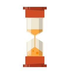 Sand clocks isolated vector