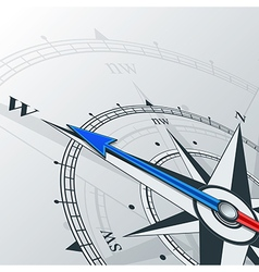 compass west vector image
