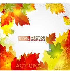 autumn2 vs vector image vector image