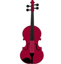 violin1 vector image
