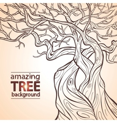 Tree amazing vector image vector image
