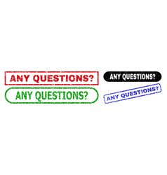 Any questions question rectangle watermarks using vector