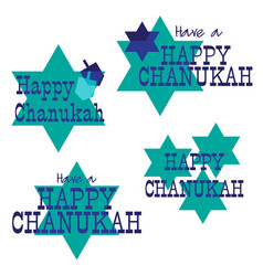 Chanukah graphics vector