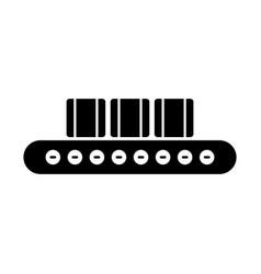 conveyor belt icon vector image