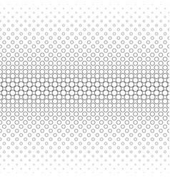 monochrome circle pattern - geometric background vector image