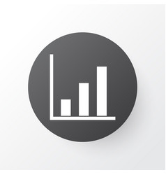 Project statistics icon symbol premium quality vector