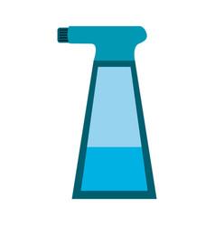 water splash bottle vector image