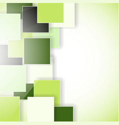 squares shadow background vector image vector image