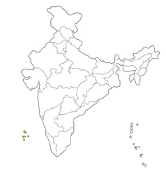 lakshadweep vector image vector image