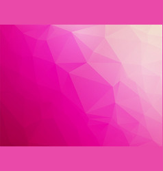 abstract triangular pink violet white love vector image