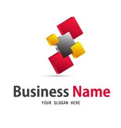 Business web icon logo vector