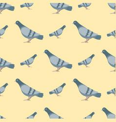 dove flying bird seamless vector image