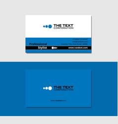 Freelancer business card vector
