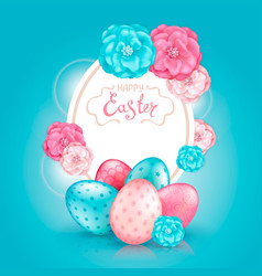 happy easter collection vector image