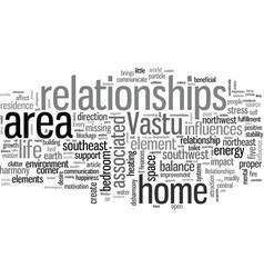 Improve your relationships through vastu vector