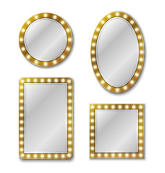 makeup mirror mirroring reflection surface vector image