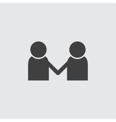 Partnership icon vector image
