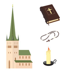 religion set vector image