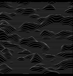 Striped background abstract line vector