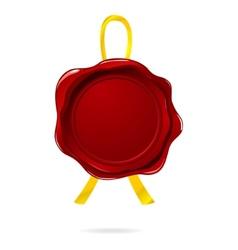guarantee badge vector image