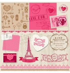 Wedding Set of design elements vector image vector image
