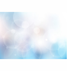 abstract blue blurred beautiful background vector image