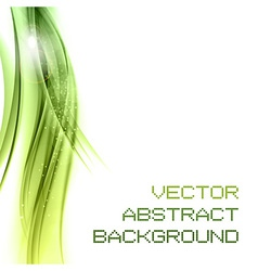 background green left vector image