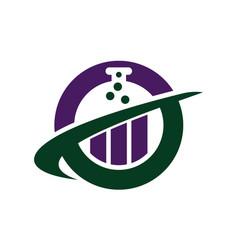 business formula logo design template vector image