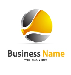 business web icon logo vector image