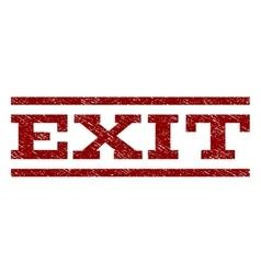Exit Watermark Stamp vector