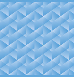 Geometric pattern with blue rectangles vector