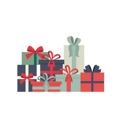 Gift boxes icon vector