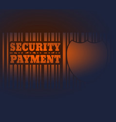 Internet payments security system vector