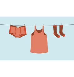 Mens underwear vector image