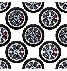 Pattern with wheel vector