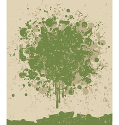 music note splatter vector image vector image