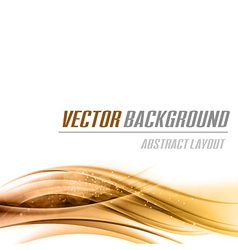 background orange bottom vector image vector image