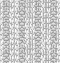Double Ribbing Stitch vector image vector image
